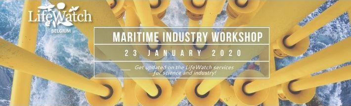 LifeWatch VLIZ meets Maritime Industry